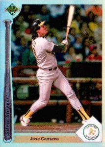 1991 Upper Deck Silver Sluggers Chrome Refractor Prototype Custom