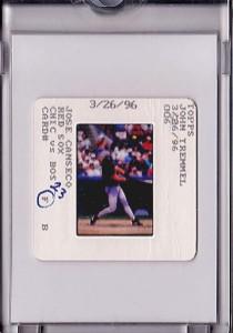 1996 Bowman Original Topps Vault Slide Front 1/1