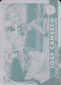 2001 Fleer Tradition Printing Plate 1/1