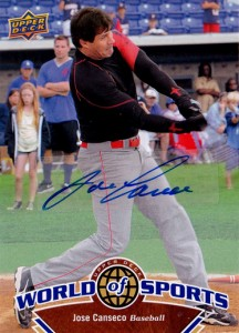 2010 Upper Deck World of Sports Autograph