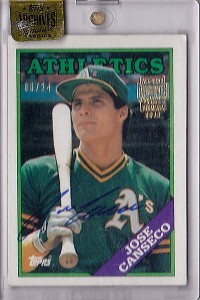 2016 Topps Archives Signature Series 1988 Topps #370 /24