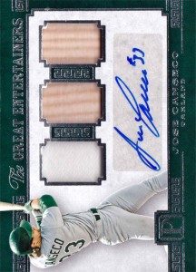 2016 PANTHEON GREAT ENTERTAINERS AUTO 3X RELIC /25