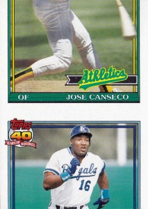 1991 Topps #700 Pre-Production Sample miscut