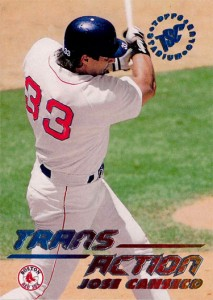 1995 Stadium Club #630 Trans Action Blue-Red-Yellow