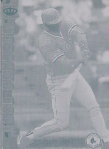1997 Pacific #34 Printing Plate Front 1/1