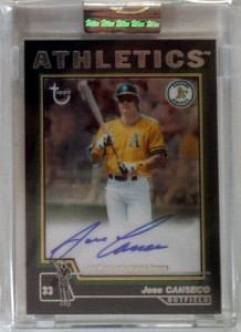 2004 Topps Chrome Retired Black Autograph #TA-JCA