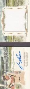 2014 Topps Allen & Ginter Jersey Autograph Booklet /10
