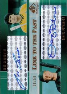 2004 SP Prospects Link to the Past Dual Autograph /50