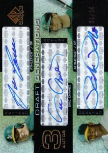 2004 SP Prospects Draft Generations Triple Autograph /25