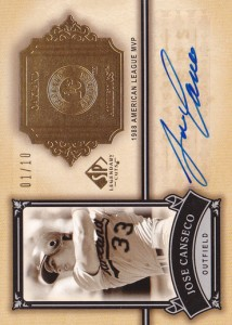 2005 SP Legendary Cuts Classic Careers Autograph /10