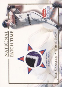 2002 Fleer Platinum National Patch Time Patch /150