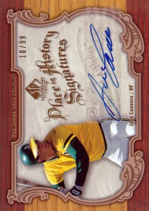 2006 SP Legendary Cuts Place in History Signatures Autograph /99