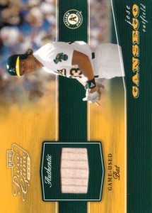 2002 Playoff Piece of the Game Bat /50