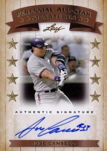 2011 Leaf Perennial All-Star Signatures Autograph /6