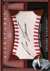 2005 Sweet Spot Classic Signatures Autograph