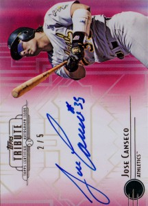 2014 Topps Tribute Autographs Red #TAJC /5