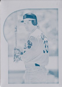 2015 Gypsy Queen #8 Printing Plate Cyan 1/1
