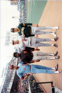 1986 MLB Japan All-Star Series Original Photo
