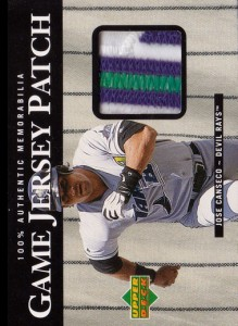 2000 Upper Deck Game Jersey Patch