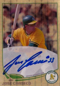 2013 Topps Superfractor Autograph Custom