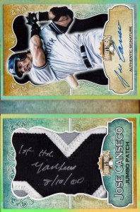 2013 Tanner Threads Patch Autograph Booklet Custom