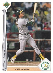 1991 Upper Deck Silver Slugger Wrong Back