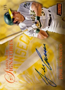2017 Stadium Club Lone Star Signatures Orange Autograph /5