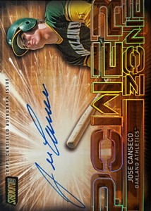 2017 Stadium Club Power Zone Gold Rainbow Autograph 1/1