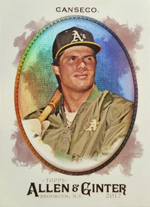 2017 Topps Allen & Ginter Glossy Hot Box Foil
