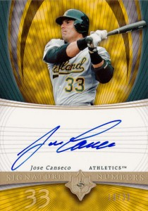 2005 Ultimate Signature Numbers Autograph /33