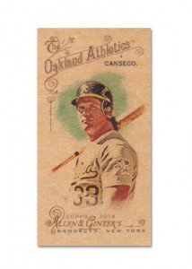 2014 Topps Allen & Ginter Mini Wood Custom