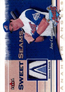 2001 Fleer Sweet Seams Prototype Patch Custom