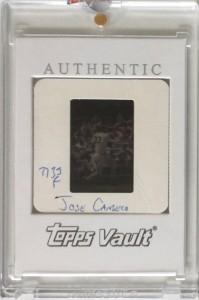 2000 Topps Traded Vault Original Slide Front 1/1