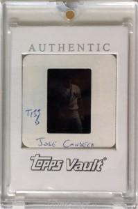 2000 Topps Traded Vault Original Slide Back 1/1