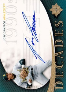 2005 Ultimate Signature Decades /99