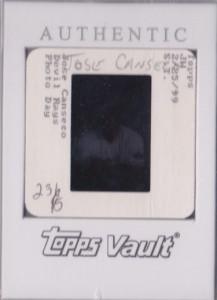 1999 Finest #231 Topps Vault Slide Back 1/1