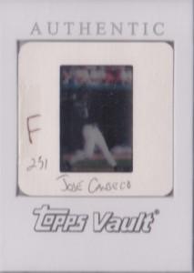 1999 Finest #231 Topps Vault Slide Front 1/1
