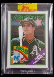 1988 Topps #370 Bubblegum Wax Relic Custom