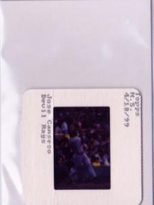 2000 Bowman's Best Franchise 2000 Original Topps Vault Slide Front 1/1