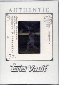 1997 Bowman's Best Topps Vault Original Slide Front 1/1