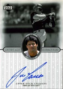 2000 Upper Deck Legends Legendary Signatures Autograph