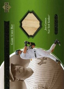2001 Upper Deck Ovation A Piece of History Bat