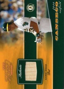 2002 Playoff Piece of the Game Bronze Bat /250