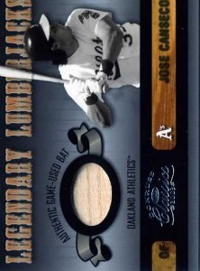 2003 Donruss Classics Legendary Lumberjacks bat /400