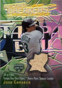 2003 Topps Chrome Record Breakers Bat