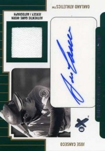 2004 E-X Signings of the Times Debut Year Autograph Jersey /85