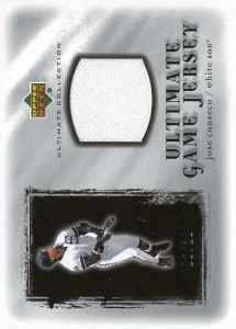 2001 Ultimate Collection Game Jersey Silver /20
