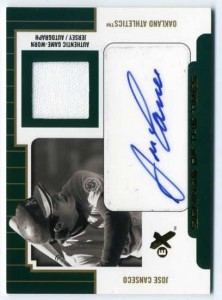 2004 E-X Signings of the Times Best Year Autograph Jersey /88-1