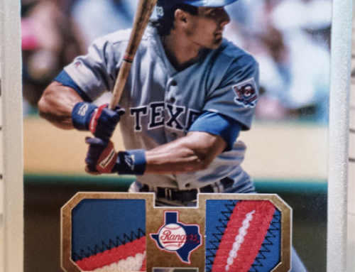 Dual Patch Canseco (2007 Ultra Dual Materials Replica)