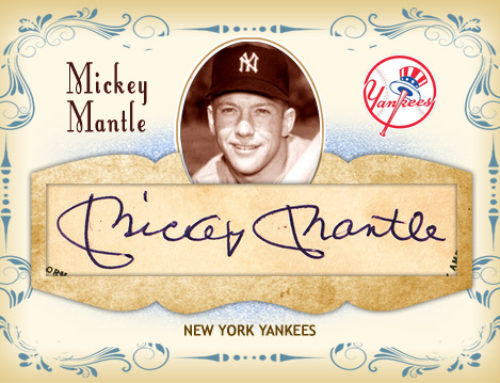 Mickey Mantle Cut Signature